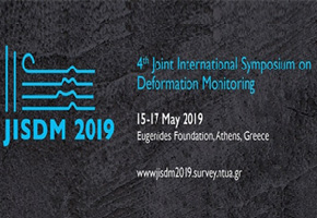 4th Joint International Symposium on Deformation Monitoring, 15-17 May 2019, Athens, Greece